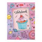 Бизнес-блокнот А6, 160 листов, «Сделано с любовью», интегральная обложка, блок офсет