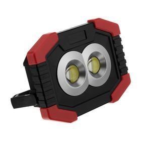 Прожектор светодиодный автономный Ritter, 2х3 Вт COB+1 Вт LED, 3xAA, 300 Лм + 80 Лм, IP44 Ош