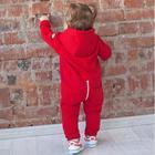Комбинезон KiDi Kids рост 56-62 см, цвет красный - Фото 2