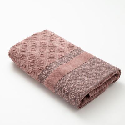 Полотенце махровое Этель, цв. коричневый, 50*100 см. 670 гр/м2, 100% хлопок - Фото 1
