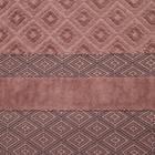 Полотенце махровое Этель, цв. коричневый, 50*100 см. 670 гр/м2, 100% хлопок - Фото 2