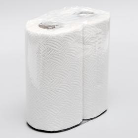 Полотенца бумажные, 2 слоя, 2 рулона