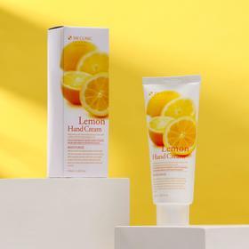 Увлажняющий крем для рук с экстрактом лимона 3W CLINIC Moisturizing Lemon Hand Cream, 100 мл