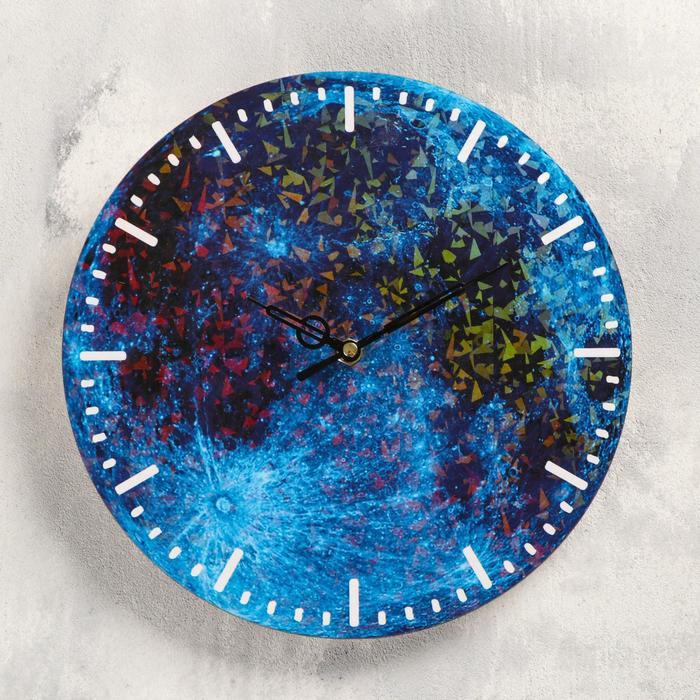 Часы настенные Планета, d-23.5. плавный ход