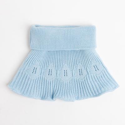Манишка детская, цвет голубой, размер 48-50 - Фото 1