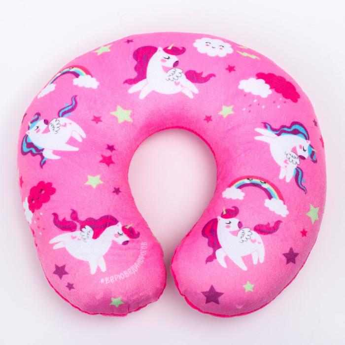 Детская подушка для путешествий «Пони»