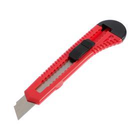 Нож универсальный ON 13-05-100, пластиковый, сегментированное лезвие, 18 мм