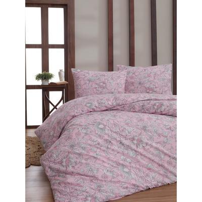КПБ Rosina 1,5 сп 160x240 см, 160x220 см, 70x70 см, цвет розовый - Фото 1