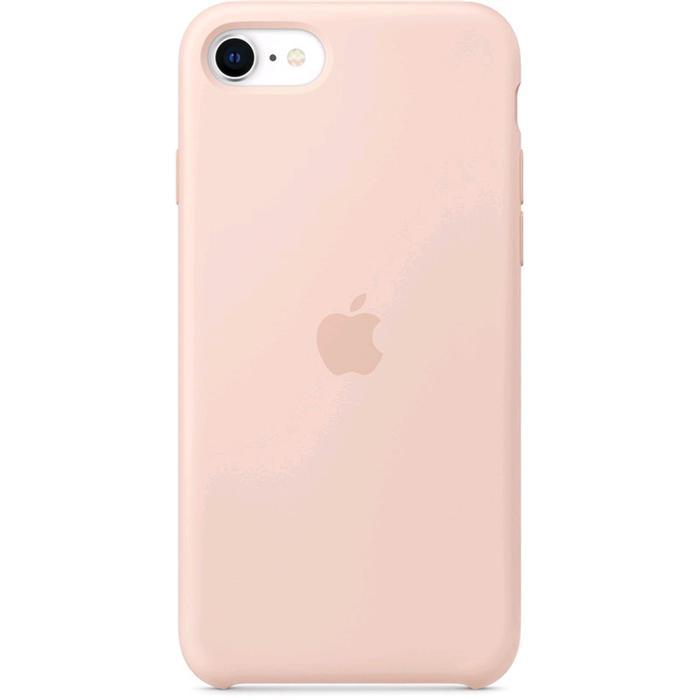 Чехол клип-кейс Apple для iPhone SE (MXYK2ZM/A), силиконовый, розовый песок