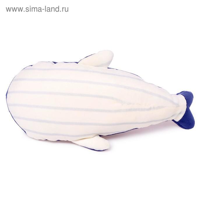 Мягкая игрушка «Кит Соня», 25 см, цвет синий