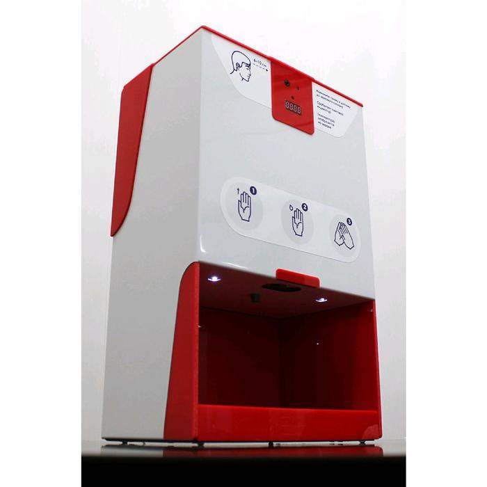 Бесконтактный дезинфектор Next Standart, 9 Вт, 3 л, 3 режима, дисплей, красный
