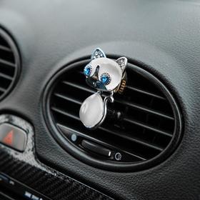 Украшение в дефлектор автомобиля 'Кошечка' Ош