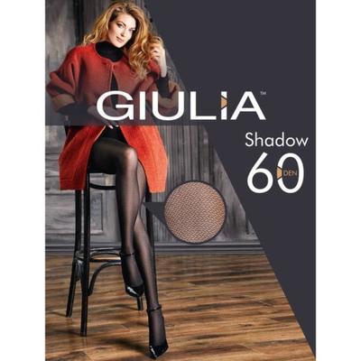 Колготки женские SHADOW 60 ден, цвет чёрный (nero), размер 2 (S) - Фото 1