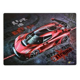 Накладка на стол, пластиковая, А4, 339 х 224 мм, «Оникс», КН-4, 500 мкм, «Красная машина» Ош