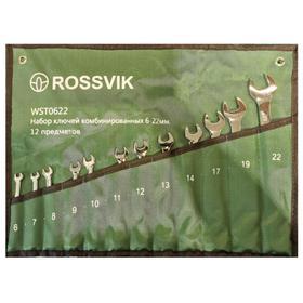 Набор ключей комбинированных ROSSVIK ЕК000013060, 6-24 мм, 16 штук