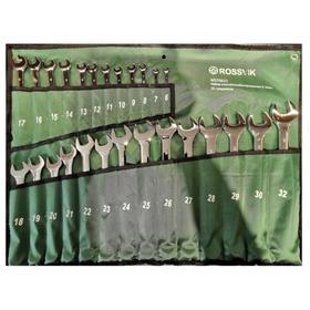 Набор ключей комбинированных ROSSVIK ЕК000013059, 6-3 2мм, 26 штук