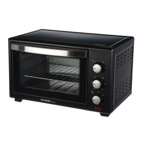 Мини-печь FIRST FA-5043-1 Black, 1600 Вт, 30 л, 3 режима, таймер, чёрная