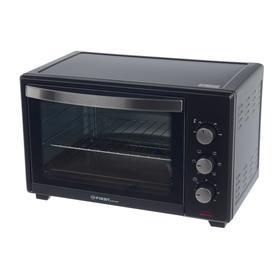Мини-печь FIRST FA-5044-1 Black, 1600 Вт, 35 л, 6 режимов, конверция, таймер, чёрная