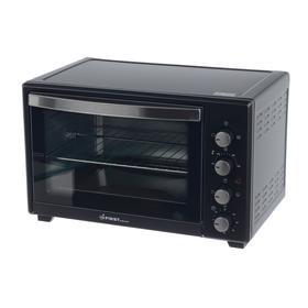 Мини-печь FIRST FA-5046-1 Black, 2000 Вт, 45 л, 5 режмов, гриль, конверция, чёрная