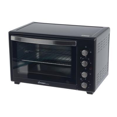 Мини-печь FIRST FA-5046-1 Black, 2000 Вт, 45 л, 5 режмов, гриль, конверция, чёрная - Фото 1