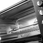 Мини-печь FIRST FA-5047 Black, 2200 Вт, 60 л, 6 режимов, гриль, конвекция, чёрная - Фото 4