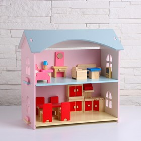 Кукольный домик «Сказка» 33х17х31,5 см Ош