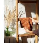 Полотенце махровое LoveLife Zig-Zag 30*60 см, цв. корица,100% хл, 360 гр/м2 - Фото 4