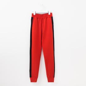 Брюки женские, цвет красный, размер 48