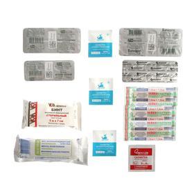 Аптечка универсальная индивидуальная с медикаментами Ош