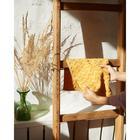 Полотенце махровое LoveLife Zig-Zag 30*60 см, цв. горчичный,100% хл, 360 гр/м2 - Фото 4