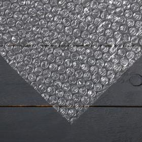 Плёнка воздушно-пузырьковая, 0,6 × 20 м, двухслойная, 12 м² Ош