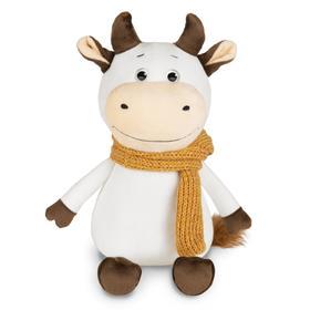 Мягкая игрушка «Бычок Афоня в шарфе», 28 см
