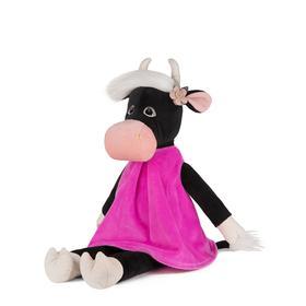 Мягкая игрушка «Коровка Даша в бархатном платье», 23 см