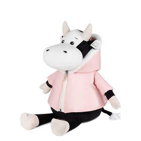 Мягкая игрушка «Коровка Маша в розовой куртке», 23 см