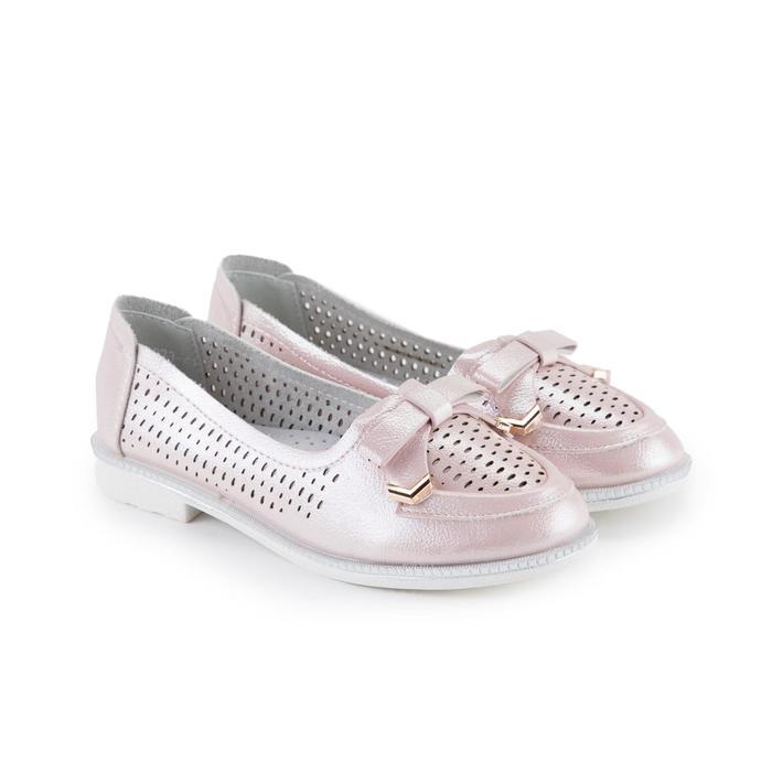 Балетки, цвет розовый, размер 36