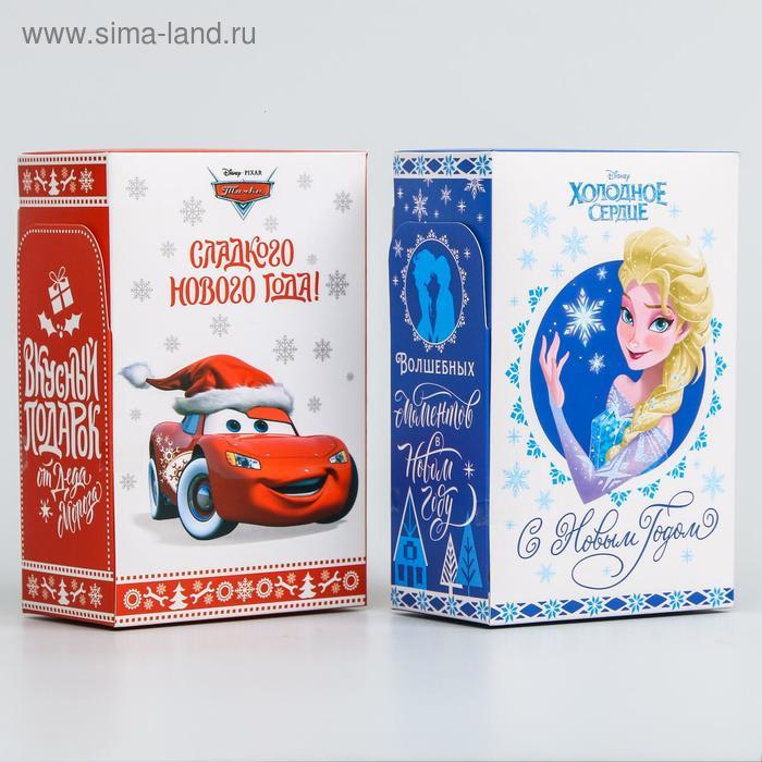 """Коробка подарочная складная """"С новым годом!"""", Disney, 10 х 16 х 6 см"""