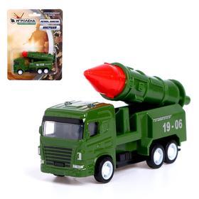 Машина металлическая «Военная техника», инерция, МИКС Ош