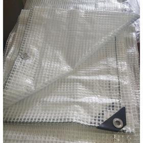 Тент армированный, 3 × 4 м, плотность 120 г/м², с люверсами Ош