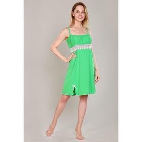 Сорочка женская, цвет салатовый, размер 42