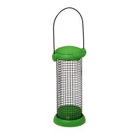 Кормушка для птиц «Бункер», 9,5 × 19,5 см, для крупнозернового корма