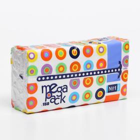 Платочки бумажные универсальные двухслойные №1 марки 'Bella №1' по 150 шт.(Mega Pack) (BE-04 Ош