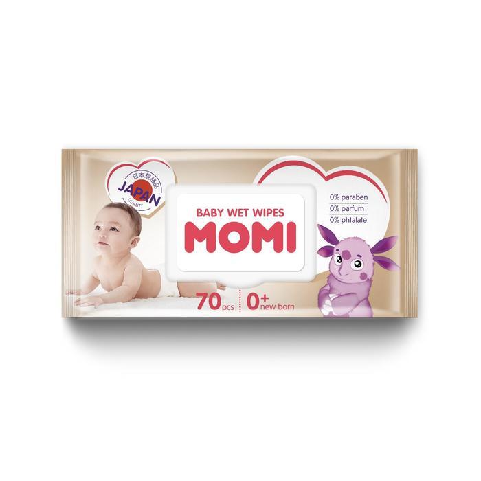 Влажные салфетки MOMI, детские, 70 шт.