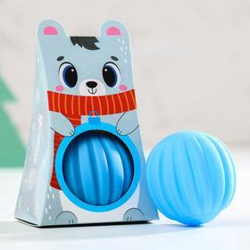 "Развивающий мячик ""Новогодний мишка"" 1 шт."