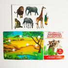 Игра на липучках «Изучаем мир экзотических животных», методика Домана - Фото 2