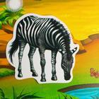 Игра на липучках «Изучаем мир экзотических животных», методика Домана - Фото 3