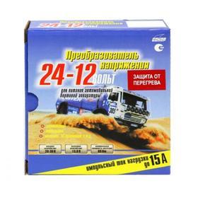 Преобразователь напряжения Сонар ПН-15Т, 24/12 В Ош