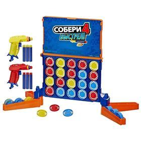 Настольная игра «Собери 4 Нёрф»