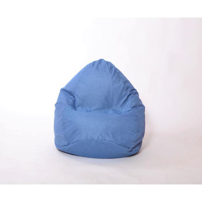 Кресло-мешок «Юниор», диаметр 75 см, высота 100 см, цвет деним