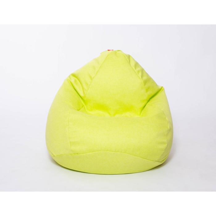 Кресло-мешок «Юниор», диаметр 75 см, высота 100 см, цвет салатовый