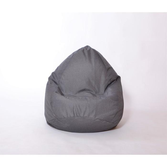 Кресло-мешок «Юниор», диаметр 75 см, высота 100 см, цвет графит